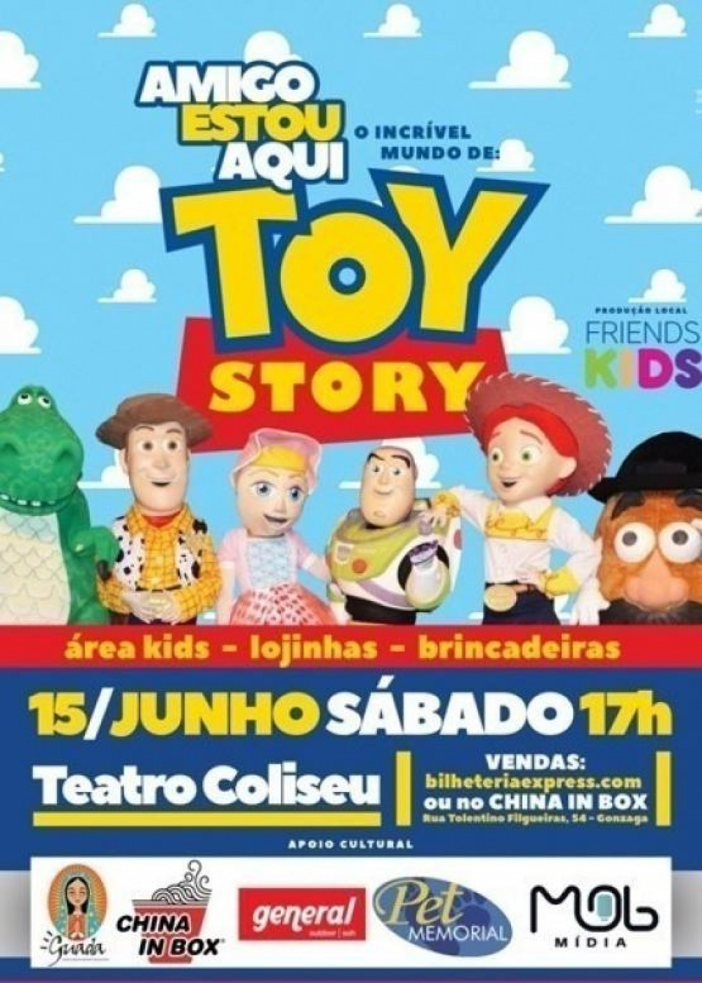 Amigo Estou Aqui  - O Incrível Mundo De Toy Story