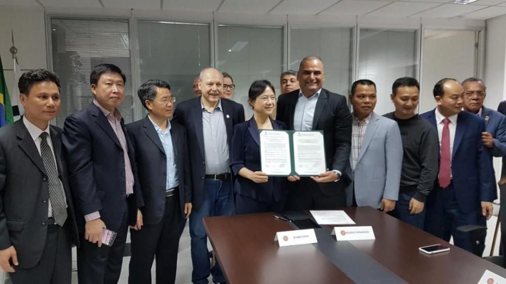 Assinado protocolo de intenções para aproximação entre Santos e cidade chinesa Meizhou