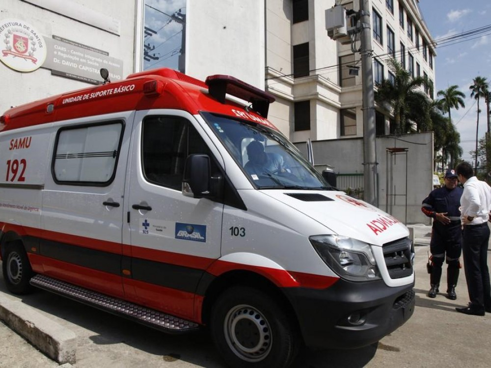 Governo Federal doa ambulâncias do Samu para Santos e Guarujá, SP