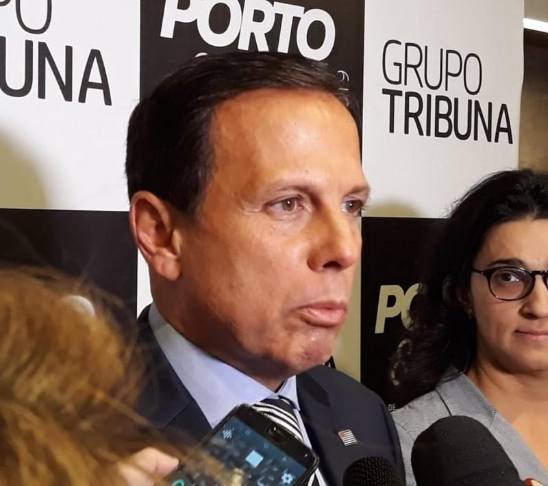 Licença ambiental da ponte entre Santos e Guarujá sairá em 8 meses, diz Doria