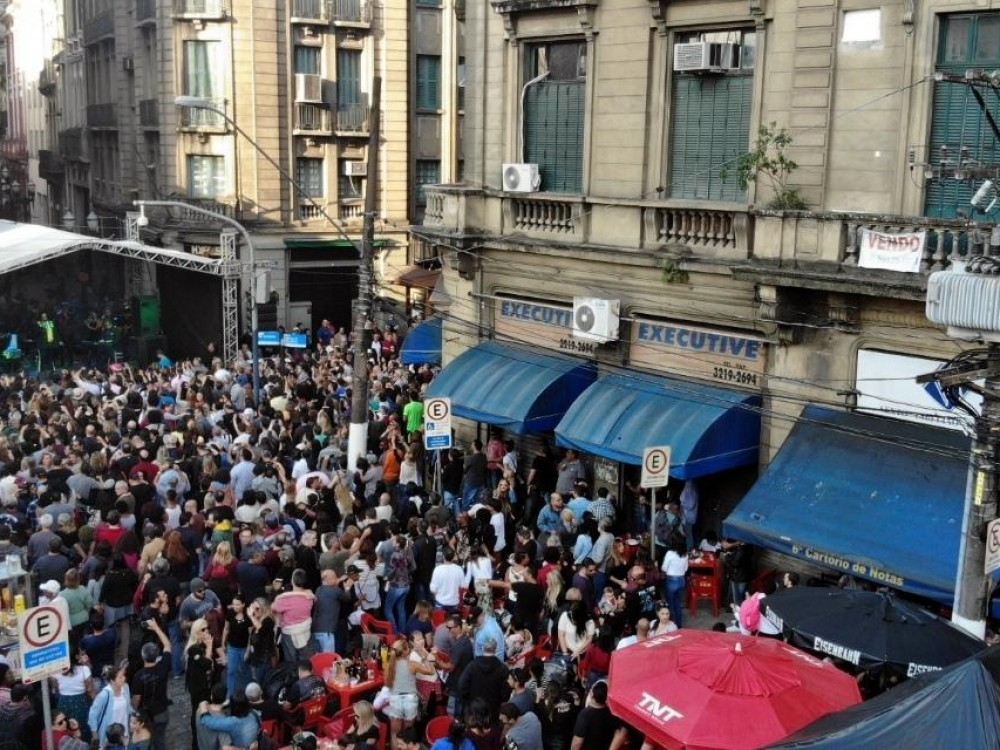 72 mil pessoas agitam o Centro durante o 5º Festival Santos Café