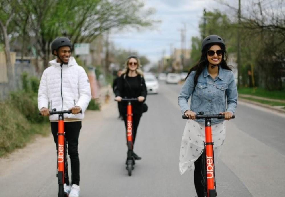 Uber começa a alugar patinetes elétricos no Brasil