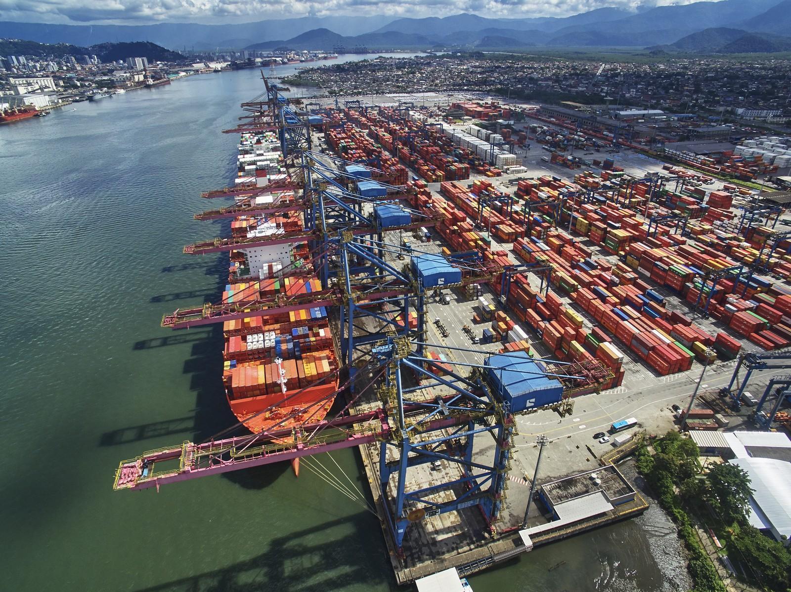 Porto de Santos é o 39º no mundo e 1º do Hemisfério Sul em ranking internacional